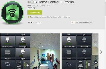 Demo verze aplikace iNELS Home Control až tak demo není. Dostanete se s ní totiž přímo do Prahy, do předváděcího centra a do konkrétní místnosti na například konkrétní světlo. Za vyzkoušení určitě stojí.