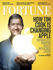 Tim Cook na obálce Fortune