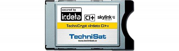 Nový modul TechniCrypt Irdeto CI+, který se brzo objeví na našem trhu.
