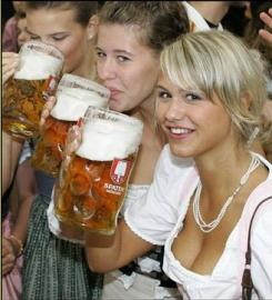 ženy a pivo