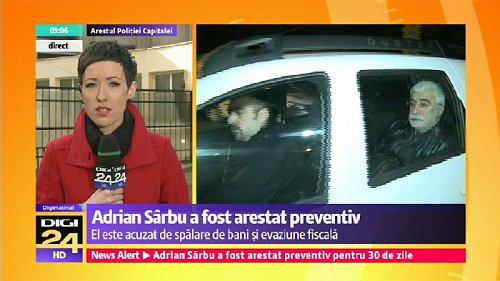 O uvalení třicetidenní preventivní vazby na Adriana Sarbua dnes rozhodl v ranních hodinách odvolací soud