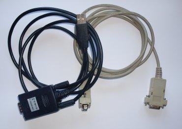 Seriový kabel a převodník na USB