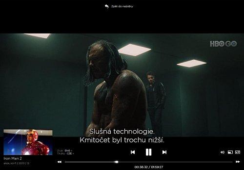 Přehrávání filmu Iron Man 2 v originálním znění z titulky.