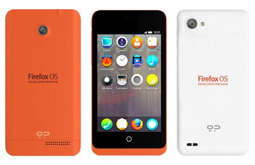Telefony s Firefox OS