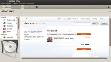 Ubuntu One Music Store