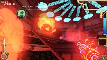 Tower of Guns obrázky k recenzi.
