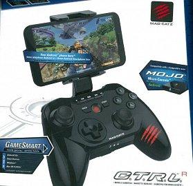 Jak už jsem se zmiňoval v aktualizaci recenze televizoru Philips 55PUH6400, pro hry je i s touto TV vyzkoušen ovladač Mad Catz C.T.R.L.R Mobile Gamepad (1.500 Kč) s oddělitelnou horní částí. Na oficiálních stránkách výrobce existuje i pěkně dlouhý seznam kompatibilního softwaru.