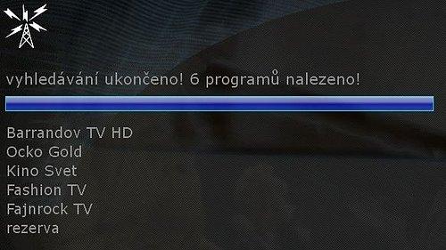 Obsah nového DVB-T multiplexu šířeného v síti kabelového operátora UPC Česká republika