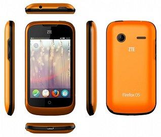 ZTE One v provedení oranžovém