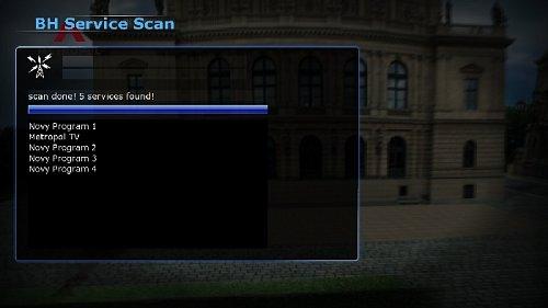 Multiplex obsahuje v současné době pět programových pozic. Čtyři jsou neobsazené, na druhé vysílá TV Metropol.