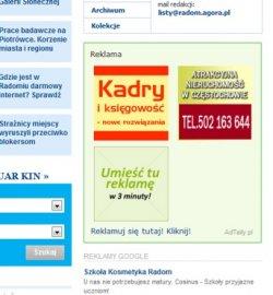Jak vypadá reklama AdTaily na polských serverech