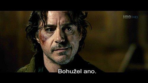 DVB titulky u amerického filmu Sherlock Holmes: Hra stínů