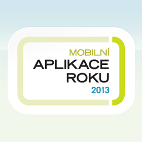 Logo Mobiln aplikace roku 2013 - vyhlen