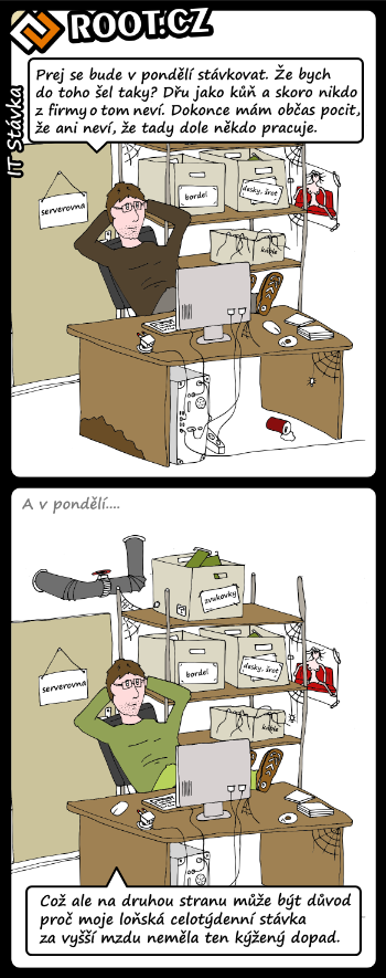 Komiks: útěcha