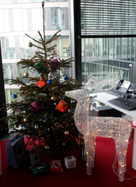 Vánoční stromek v ZUNO