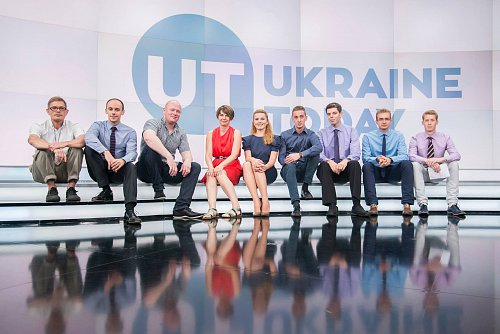 Tým nové zpravodajské televize z Ukrajiny