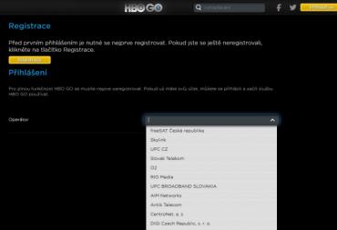 HBO Go je vázáno na příjem televizní stanice HBO. Bez ní nemáte šanci, protože tato videotéka není otevřeně dostupná komukoli. To bude až HBO Now i když…