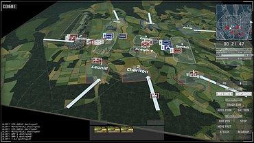 Wargame European Escalation - obrázky ze hry.