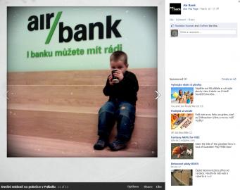 """Jedná z méně šťastných """"oficielních"""" fotografií na Facebooku"""