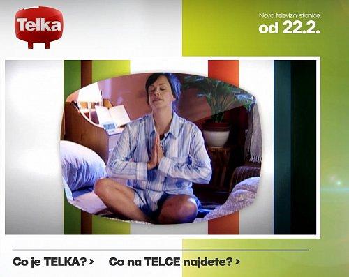 Náhled webových stránek chystané stanice Telka