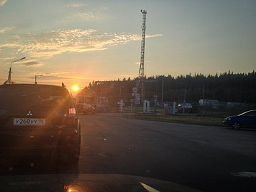 Hranice Svetogorsk (RUS) - Pelkola (FIN). Ruská strana