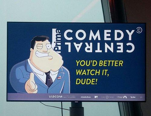 Prima Comedy Central bude volně šířeným kanálem v DVB-T