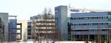 Areál Peltola ve městě Oulu.