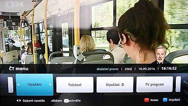 Aplikace HbbTV pracuje spolehlivě, bohužel po obsahové stránce je to tak za čtyři, čtyři mínus…