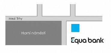 Kde najdete novou pobočku Equa bank v Opavě?