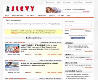 MéSlevy.cz: design neexceluje, ale uživatelům to nevadí. Proč je prudit cizelovanou grafikou, síla je i v jednoduchosti.
