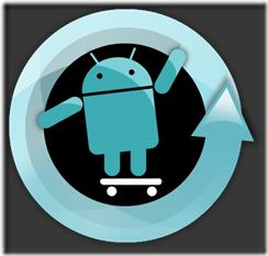 Původní logo CyanogenMOD