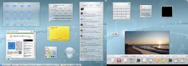 KDE 4.4 - Desktop