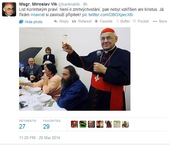@kardinalvlk je zpět na Twitteru