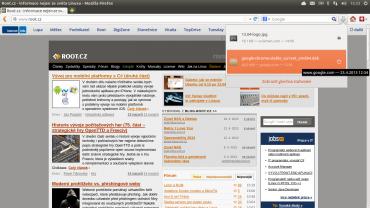 Webový prohlížeč Mozilla Firefox 20 s novým správcem stahování