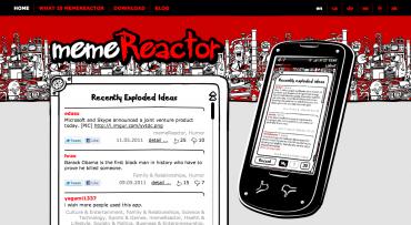 memeReactor, asociální síť pro Androidy, by se měl v nejbližších dnech dočkat plnohodnotného webového rozhraní