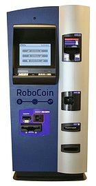 Skříňový automat Robocoin