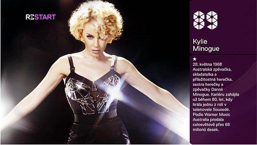 Kylie Minogue je hudební ikonou už 25 let. Na Retro bezpochyby patří