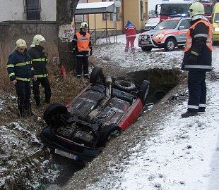 Autonehoda, nehoda, havárie, hasiči,