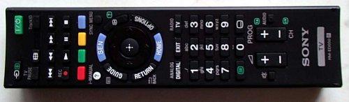 Dálkový ovladač je výborný s velice dobrý rozložením i záběrem infrapaprsku. Tlačítko SEN, které vidíte nad kurzorovým křížem zajišťuje přístup na Sony Entertainment Network (widgety).