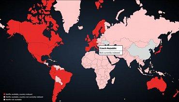 Na interaktivní mapě světa už Česko, a Slovensko, nechybí.