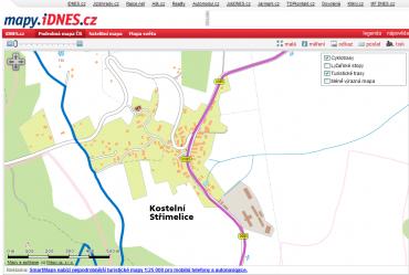 Největší přiblížení na mapy.iDnes.cz