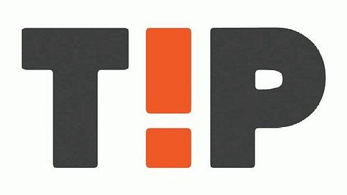 Testovací obrazovka znovuzrozené televize Tip TV.