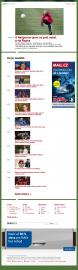 Sport.cz titulní stránka 2/2012
