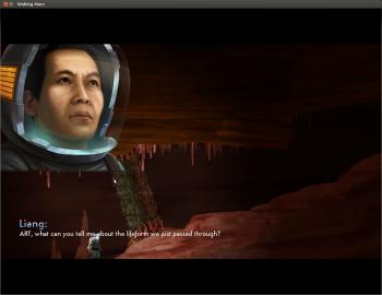Obrázky ze hry Waking Mars.