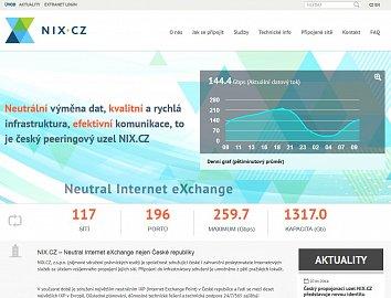 Podoba webu NIX.CZ od 7.1.2014.