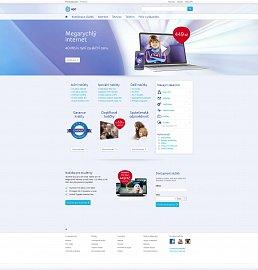 Nová podoba webových stránek kabelového operátora UPC Česká republice