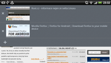 Firefox 14 na OS Android