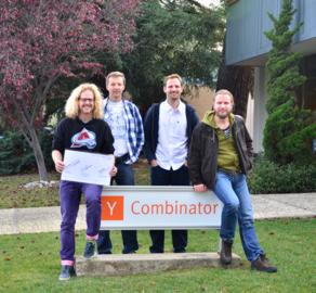 V listopadu 2013 se opět pokusili o přijetí do Y Combinatoru(Zleva Radovan Andrej Grežo, Robert Prokeš, Petr Ocásek a Adam Herout)