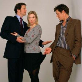 Přítomnost či nepřítomnost sukně nebyla vždy jasná ani v případě Bridget Jones