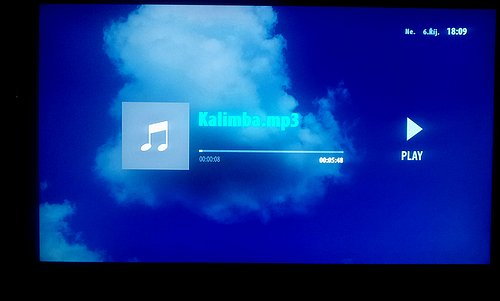 Kdo si pustí na Voyo Playeru MP3 soubory, neměl by mít s nimi problém.